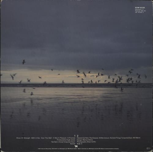 Echo & The Bunnymen Heaven Up Here vinyl LP album (LP record) German ECHLPHE763818