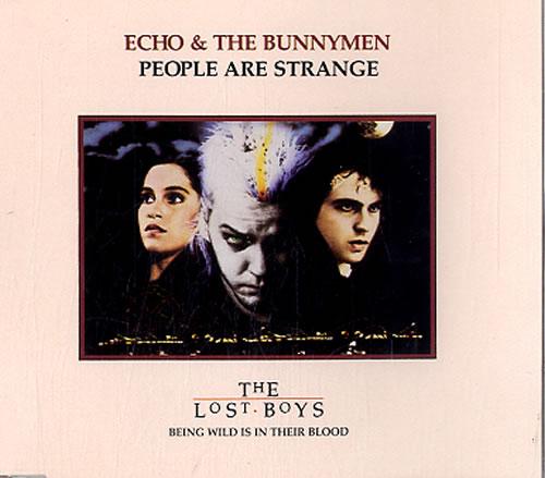 "Echo & The Bunnymen People Are Strange CD single (CD5 / 5"") UK ECHC5PE39108"
