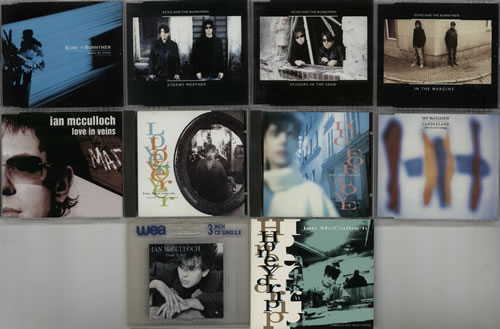 "Echo & The Bunnymen Quantity of 22 CD Singles CD single (CD5 / 5"") UK ECHC5QU634164"