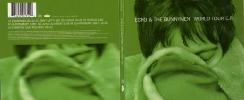 "Echo & The Bunnymen World Tour EP CD single (CD5 / 5"") German ECHC5WO153161"