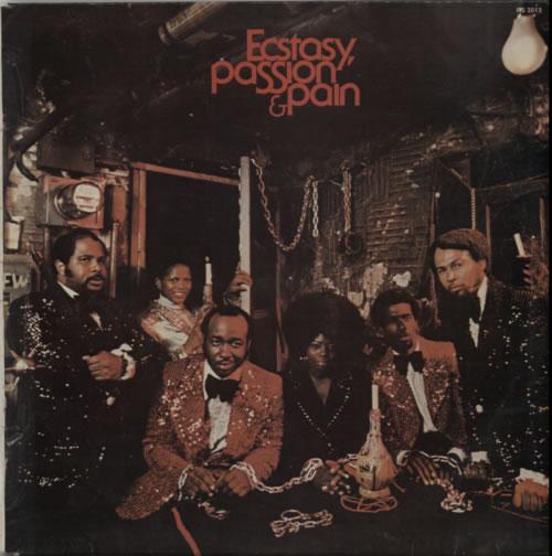 Ecstasy, Passion & Pain Ecstasy, Passion & Pain vinyl LP album (LP record) South African F4SLPEC613710