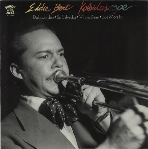 Eddie Bert Kaleidoscope vinyl LP album (LP record) US EF3LPKA677722