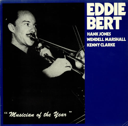 Eddie Bert Musician Of The Year vinyl LP album (LP record) German EF3LPMU470889
