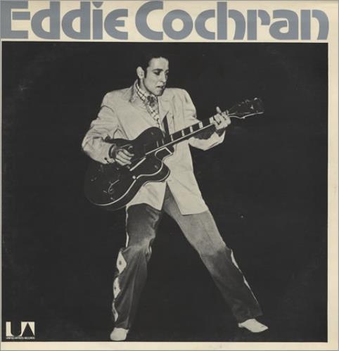 Eddie Cochran Legendary Masters Series Uk 2 Lp Vinyl
