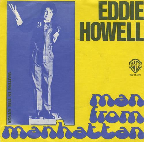 "Eddie Howell Man From Manhattan - Yellow Photo Slv 7"" vinyl single (7 inch record) Dutch EDD07MA97966"