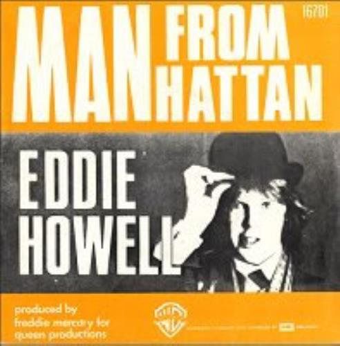 "Eddie Howell Man From Manhattan 7"" vinyl single (7 inch record) Belgian EDD07MA155471"