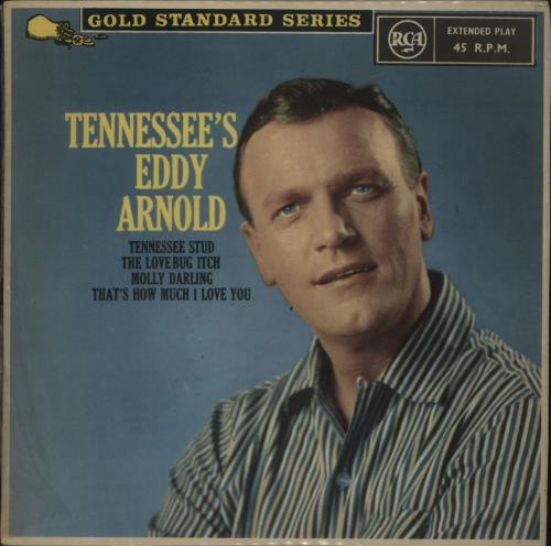 "Eddy Arnold Tennessee's Eddy Arnold 7"" vinyl single (7 inch record) New Zealand AR907TE677661"
