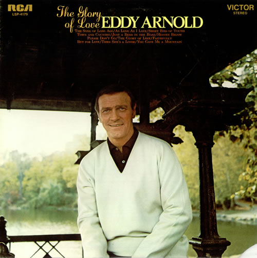 Eddy Arnold The Glory Of Love vinyl LP album (LP record) US AR9LPTH490555