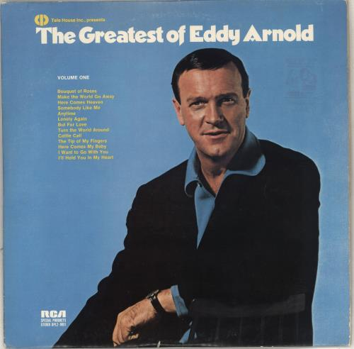 Eddy Arnold The Greatest Of Eddy Arnold 2-LP vinyl record set (Double Album) US AR92LTH711229