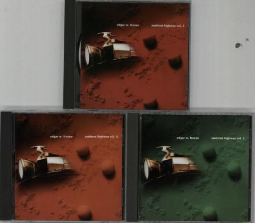 Edgar Froese Ambient Highway Vol. 1-4 4-CD album set UK FRO4CAM621529