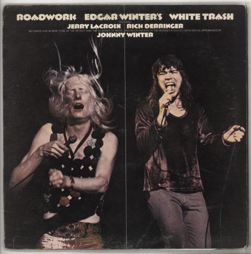 Edgar Winter Roadwork 2-LP vinyl record set (Double Album) UK EGW2LRO186461