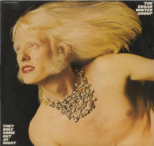 Edgar Winter They Only Come Out At Night CD album (CDLP) Japanese EGWCDTH549392