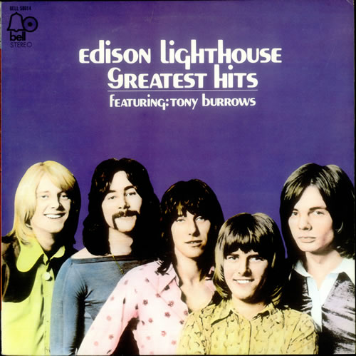 Edison Lighthouse Greatest Hits Japanese Vinyl Lp Album