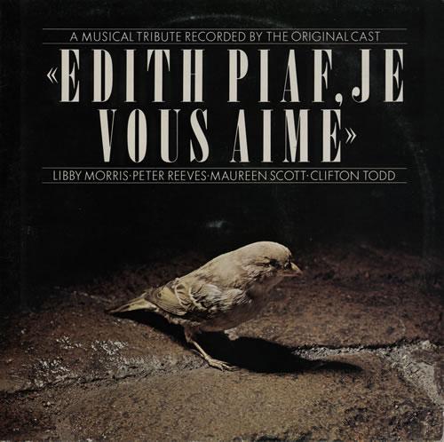 Edith Piaf Edith Piaf, Je Vous Aime... A Musical Tribute 2-LP vinyl record set (Double Album) UK EPF2LED568619