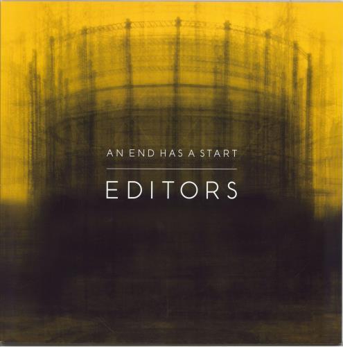 Editors An End Has A Start vinyl LP album (LP record) UK EB7LPAN767880