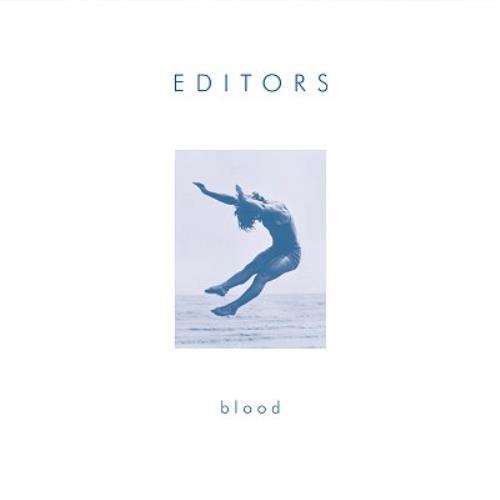"""Editors Blood - White Border CD single (CD5 / 5"""") UK EB7C5BL356612"""