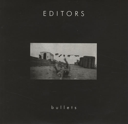 """Editors Bullets CD single (CD5 / 5"""") UK EB7C5BU323169"""