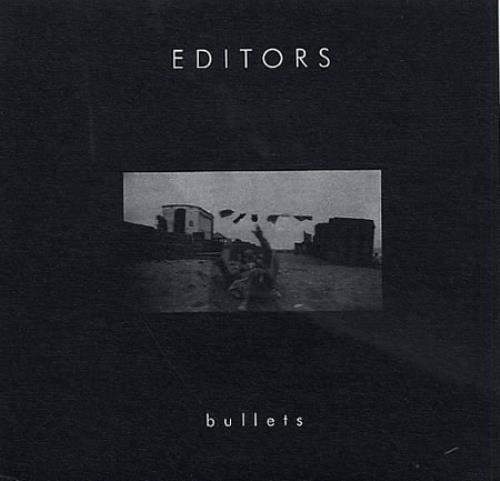 """Editors Bullets 7"""" vinyl single (7 inch record) UK EB707BU329406"""