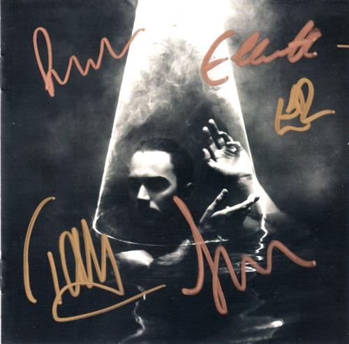 Editors In Dream - Fully Autographed CD album (CDLP) UK EB7CDIN642927
