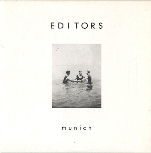 """Editors Munich CD single (CD5 / 5"""") UK EB7C5MU326954"""