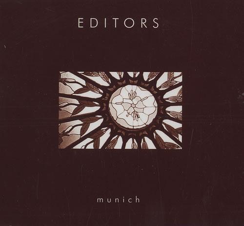 """Editors Munich CD single (CD5 / 5"""") UK EB7C5MU476235"""