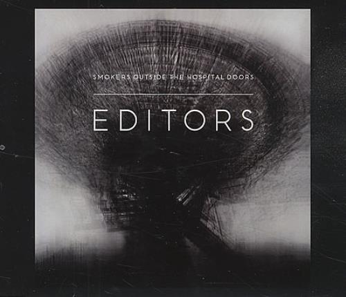 "Editors Smokers Outside The Hospital Doors CD single (CD5 / 5"") Dutch EB7C5SM409424"