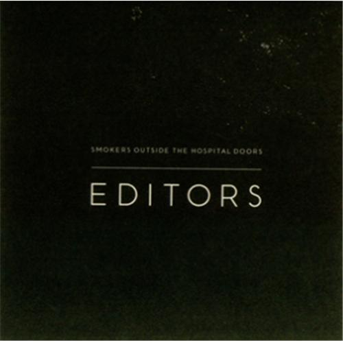 "Editors Smokers Outside The Hospital Doors CD single (CD5 / 5"") UK EB7C5SM421480"
