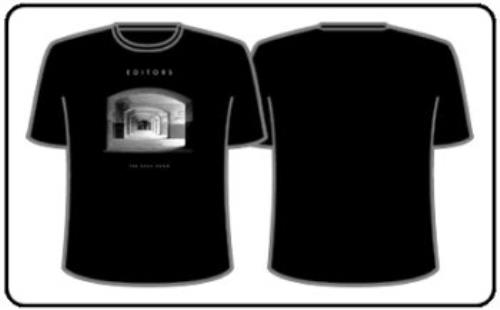 Editors The Back Room T-Shirt - Small t-shirt UK EB7TSTH352079