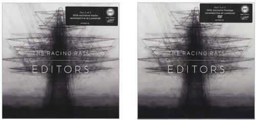 Editors The Racing Rats 3-disc CD/DVD Set Dutch EB73DTH428670