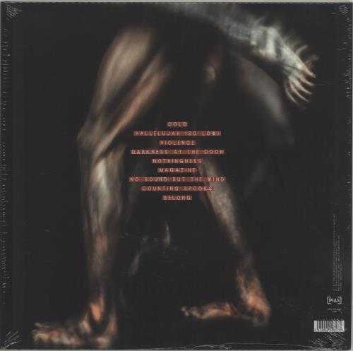 Editors Violence - Red Vinyl - Sealed vinyl LP album (LP record) UK EB7LPVI692269