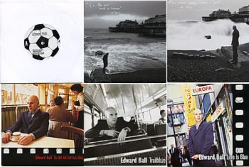 "Edward Ball Set of 6 x Creation 7""s 7"" vinyl single (7 inch record) UK E-B07SE294052"
