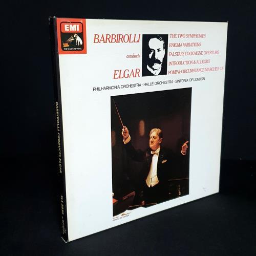 Edward Elgar Barbirolli Conducts Elgar vinyl LP album (LP record) UK EFDLPBA759060