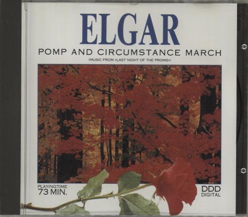 Edward Elgar Pomp & Circumstance March CD album (CDLP) Swedish EFDCDPO753947