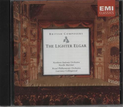 Edward Elgar The Lighter Elgar CD album (CDLP) UK EFDCDTH754165