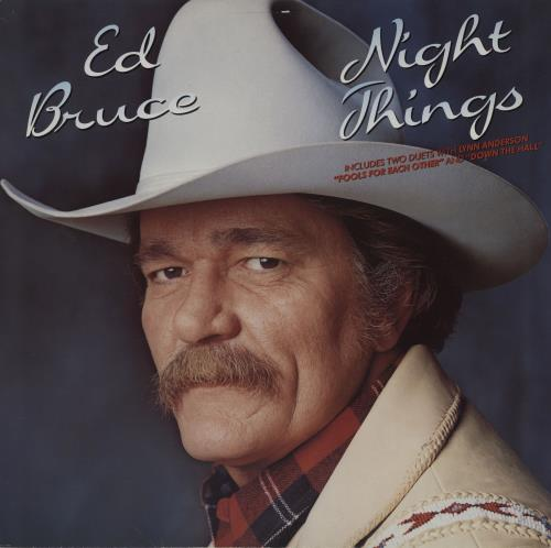 Ed Bruce Night Things vinyl LP album (LP record) German EGKLPNI759533