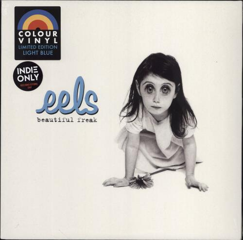 Eels Beautiful Freak - RSD20 - Blue Vinyl - Sealed vinyl LP album (LP record) UK EELLPBE775804