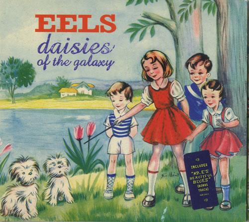 Eels Daisies Of The Galaxy - Digipak CD album (CDLP) UK EELCDDA152617