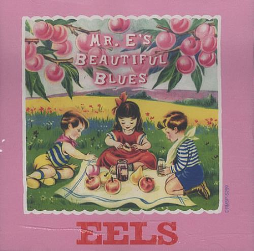 "Eels Mr. E's Beautfiul Blues CD single (CD5 / 5"") US EELC5MR152186"