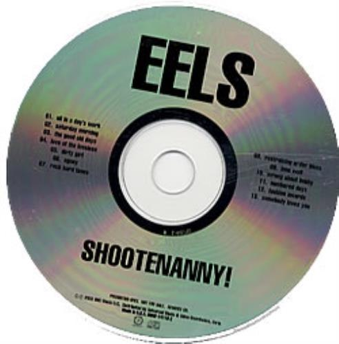 Eels Shootenanny! - no front picture sleeve CD album (CDLP) US EELCDSH242773