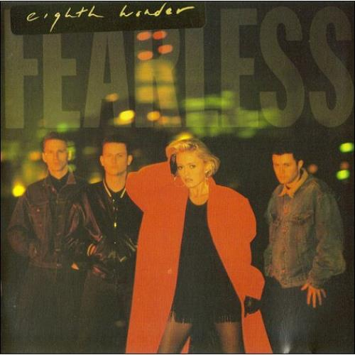Eighth Wonder Fearless CD album (CDLP) UK EIGCDFE491865