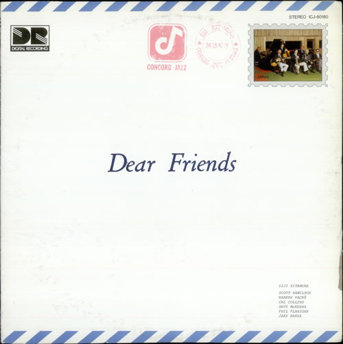 Eiji Kitamura Dear Friends vinyl LP album (LP record) Japanese EI4LPDE528407