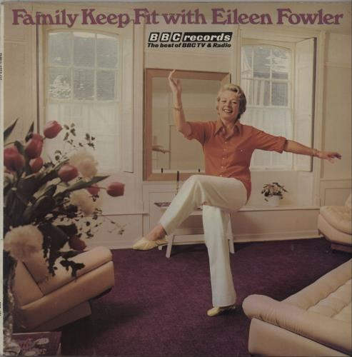 Eileen Fowler Family Keep Fit With Eileen Fowler vinyl LP album (LP record) UK I5LLPFA670105