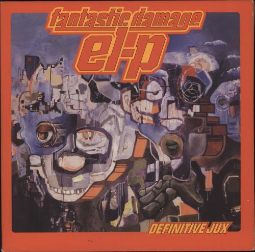 EL-P Fantastic Damage 3-LP vinyl record set (Triple Album) US 0--3LFA740418