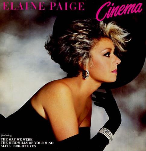 Elaine Paige Cinema vinyl LP album (LP record) UK EPGLPCI346136
