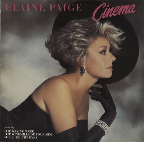 Elaine Paige Cinema vinyl LP album (LP record) German EPGLPCI676669