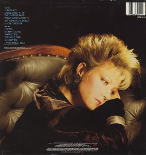 Elaine Paige Love Hurts vinyl LP album (LP record) UK EPGLPLO305741