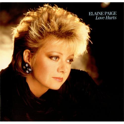 Elaine Paige Love Hurts vinyl LP album (LP record) UK EPGLPLO418255