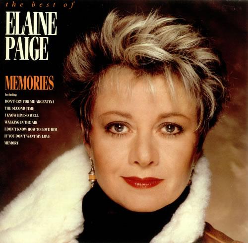 Elaine Paige Memories - The Best Of Elaine Paige vinyl LP album (LP record) UK EPGLPME240814