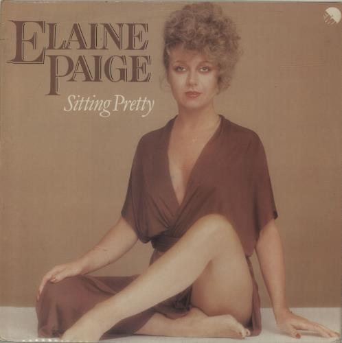 Elaine Paige Sitting Pretty vinyl LP album (LP record) UK EPGLPSI314856