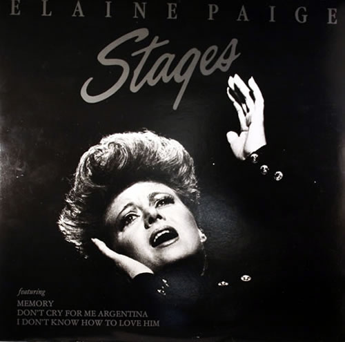 Elaine Paige Stages vinyl LP album (LP record) UK EPGLPST259993